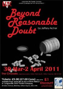 Beyond  Reasonable Doubt - performed by LLTC
